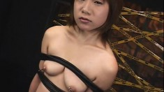 Asian cuties get their cunts fingered and their mouths filled with cum