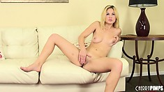 Courtney Shea is a sweet blonde babe that likes to play with herself