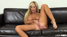 Nobody has ever left the show with Tasha Reign without nice hard-on