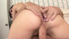Little Sasha Grey is a porn star who will do anything when she fucks