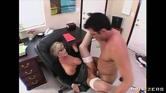 After he's done slurping on that cunt he drives his cock in deep