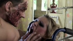 Freaky Babe Brings A Doctor Back From The Grave With Her Cunt