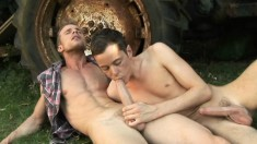 Beautiful guys Neil and Alex embark on an adventure to find pleasure