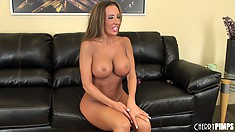 Richelle Ryan enjoys showing off her hot MILF ass and big giant melons