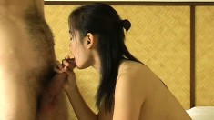 Som is a cock-hungry young babe who enjoys getting naked and fucking