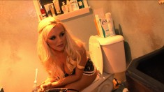 Bree Poses For Some Sexy Pictures And Takes A Pee When She's Done