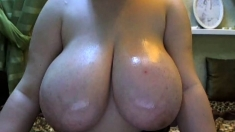 Naked BBW GFs with Huge Boobs