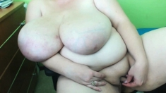 Worlds Biggest Massive Natural Tits And Small Dick Size Clit