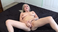Blonde with Big Boobs Loves Some Hardcore Doggy Style Action