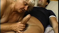 Chubby mature prostitute bends over and gets hard cum-stuck inside