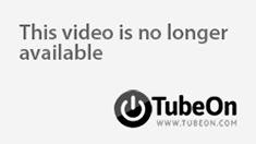Blonde babe masturbate with glass dildo